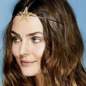 Free people eater star halo headpiece silvertone
